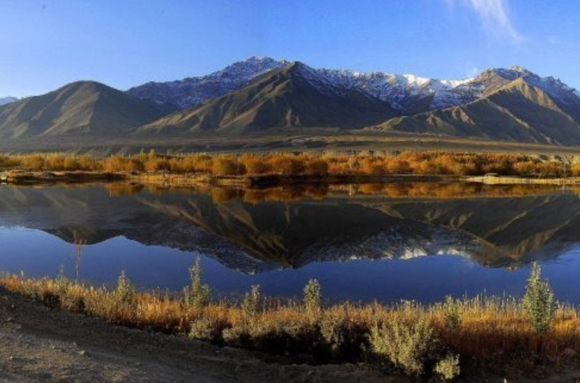 Ladakh Residency, Ley, Inde, vue sur le lac