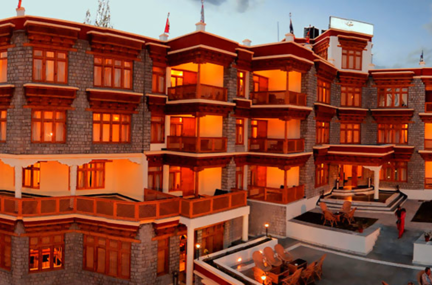 Ladakh Residency, Ley, Inde, extérieur
