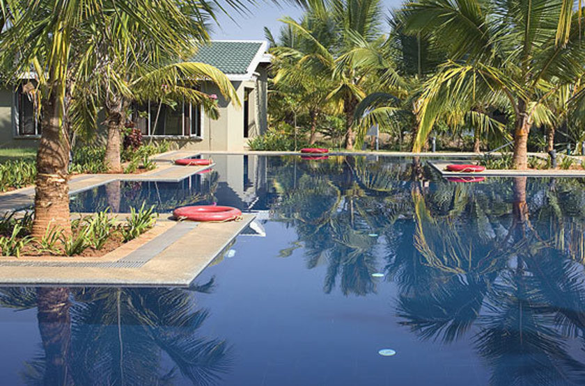 The Cicada Resort, Kabini, Inde, piscine