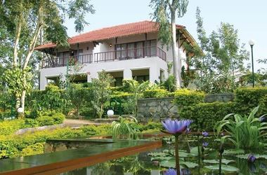 Garden retreat hotel taj   chikmagalur   jardin   maisonnette listing