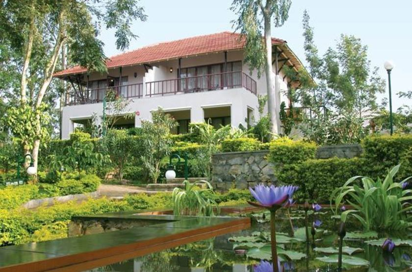 The Gateway Hotel, Chikmagalur, Inde, jardins