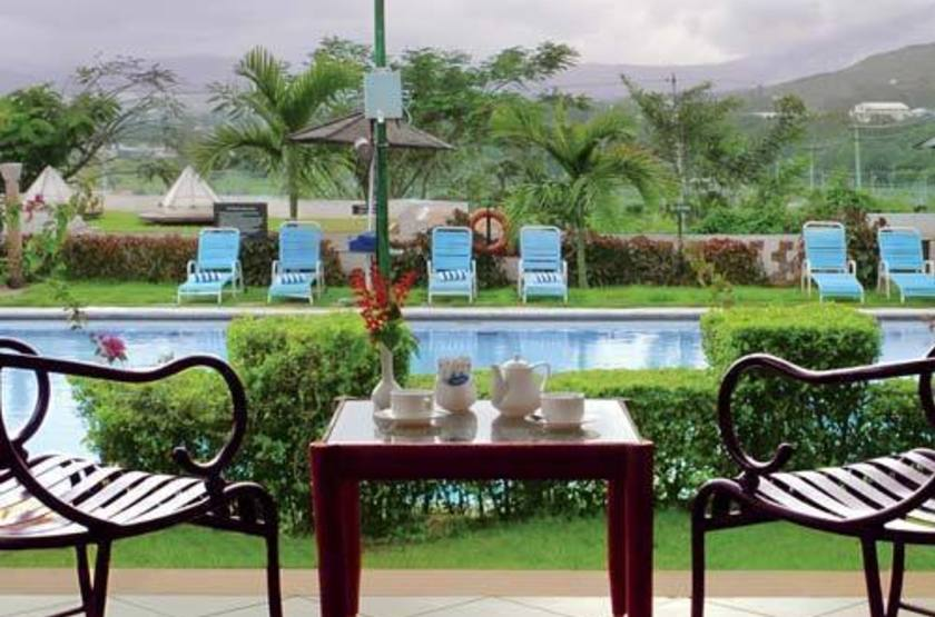 The Gateway Hotel, Chikmagalur, Inde, terrasse