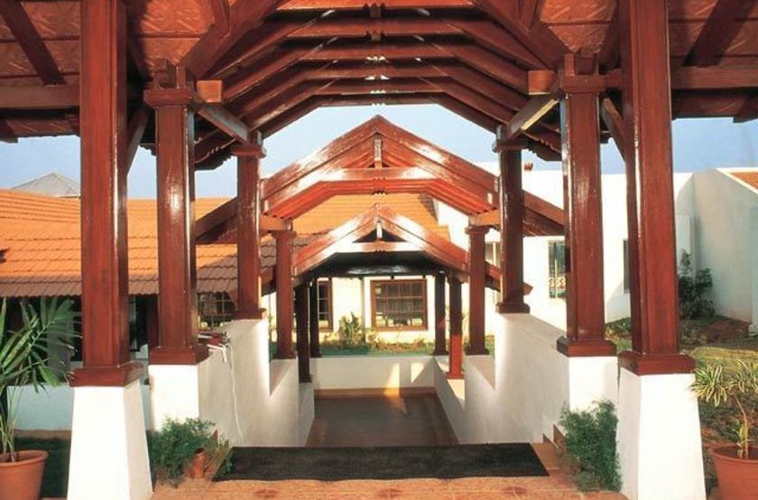 The Gateway Hotel, Chikmagalur, Inde, entrée