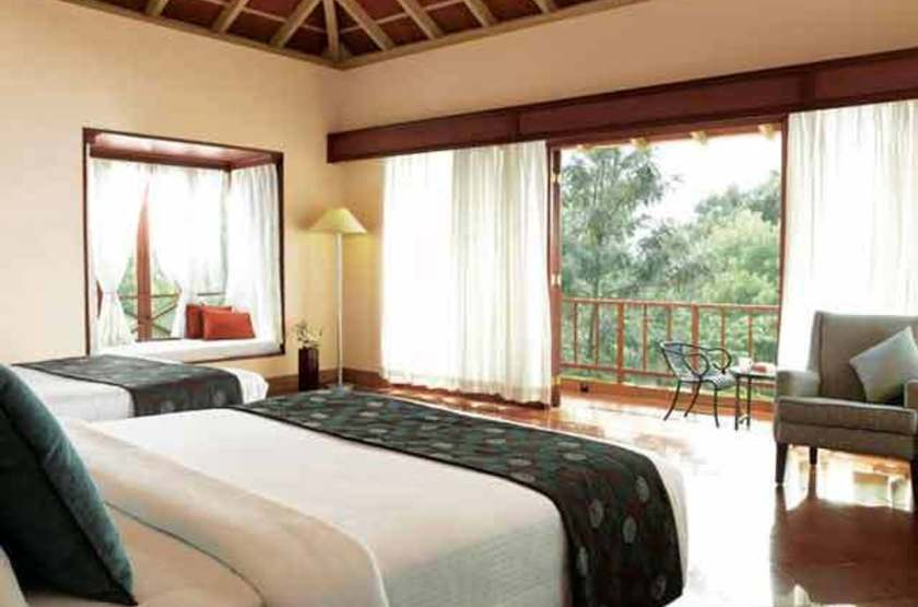 Garden retreat hotel taj   chikmagalur   chambre twins slideshow