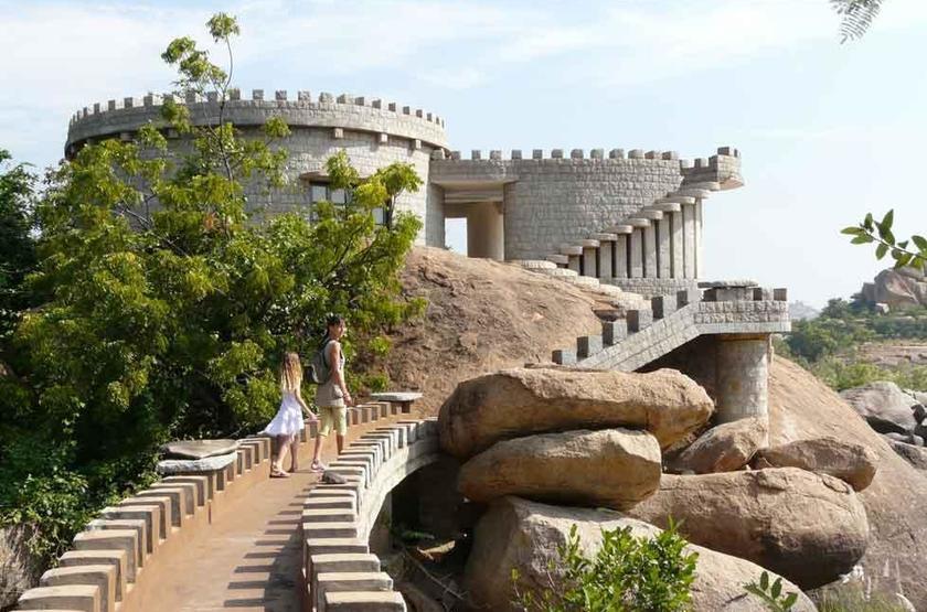 Hampi's Boulders Resort, Inde, extérieur