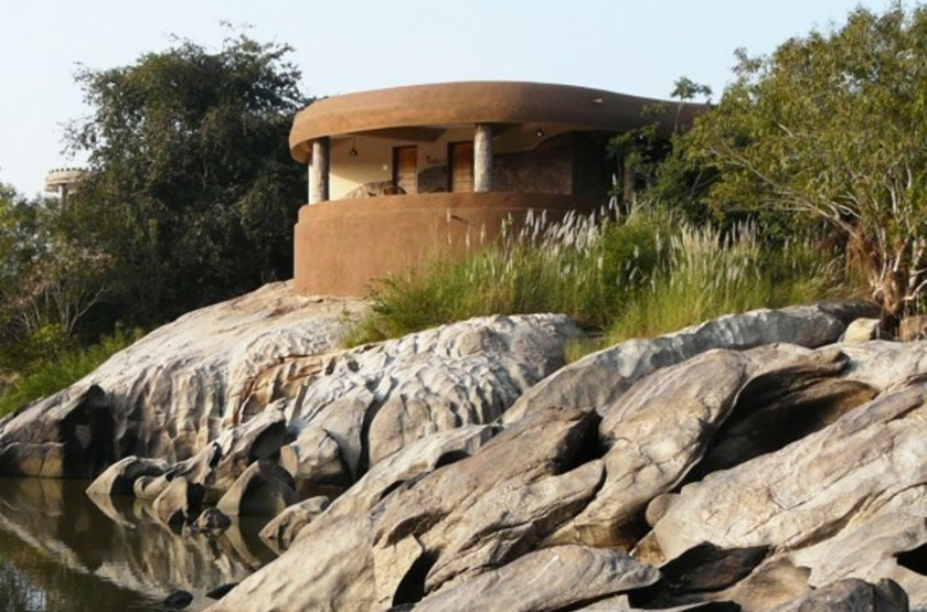 Hampi's Boulders Resort, Inde, cottage