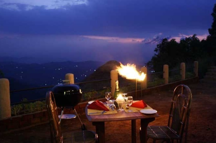 Blackberry Hills Retreat & Spa, Munnar, Inde, dîner