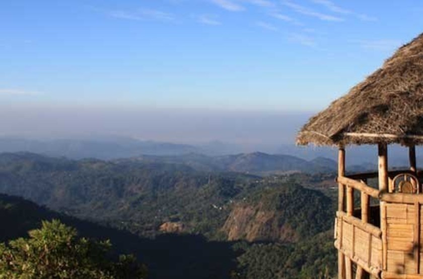 Blackberry Hills Retreat & Spa, Munnar, Inde, point de vue