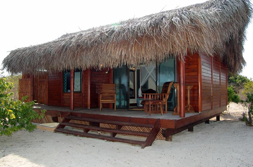 Medjumbe Island Resort, Quirimbas, Mozambique, chalet