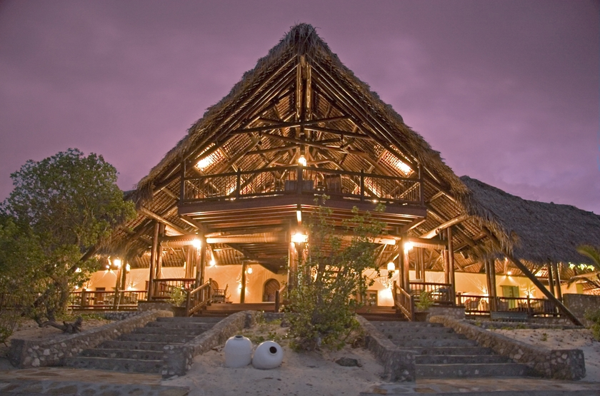 Medjumbe Island Resort, Quirimbas, Mozambique, main space