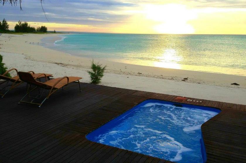 Medjumbe Island Resort, Quirimbas, Mozambique, piscine