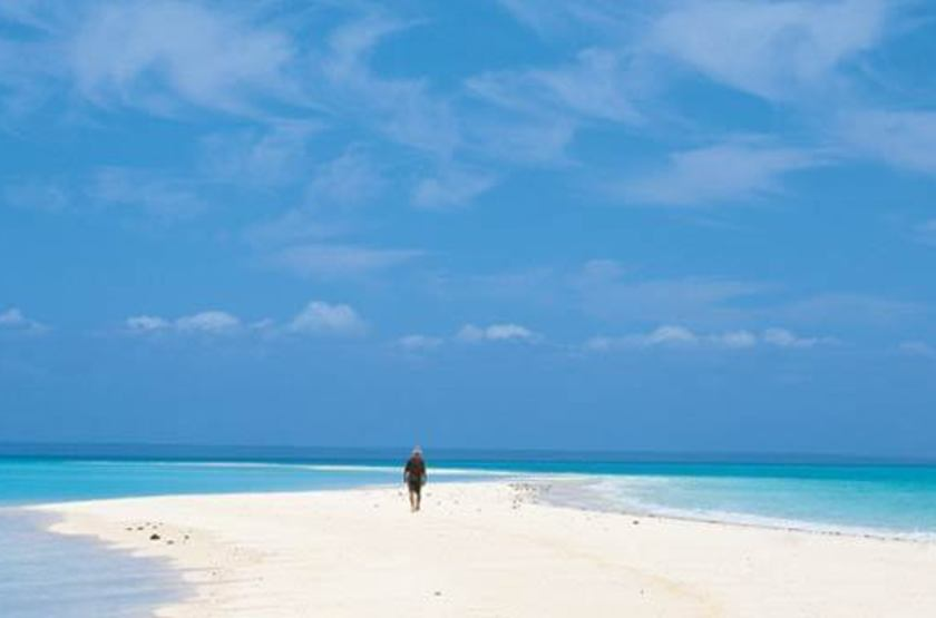 Medjumbe Island Resort, Quirimbas, Mozambique, plage