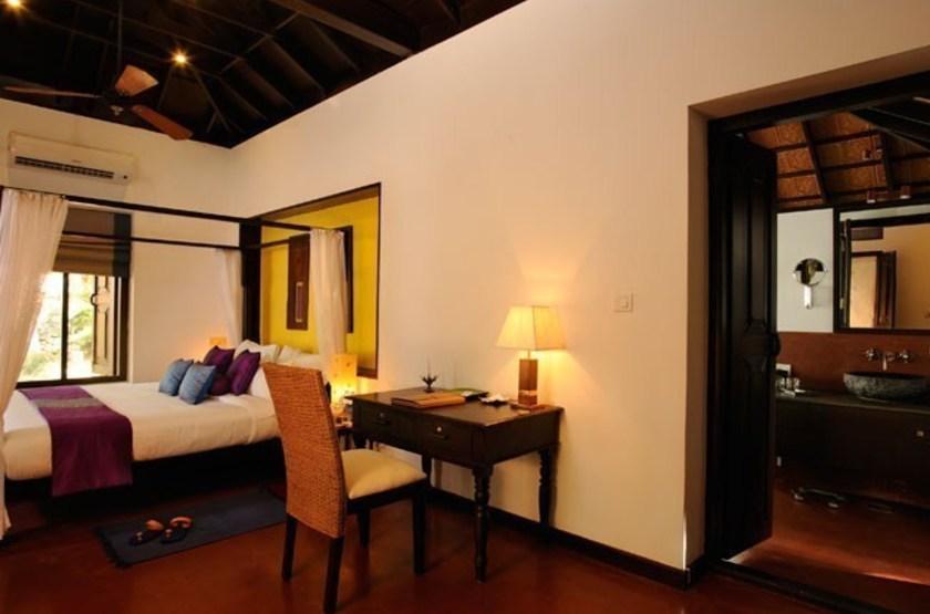 Surya samudra beach   kovalam   chambre. annexe slideshow
