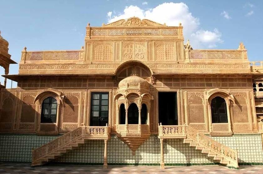 Mandir Palace, Jaisalmer, extérieur