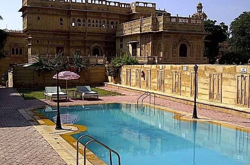 Mandir Palace, Jaisalmer, piscine
