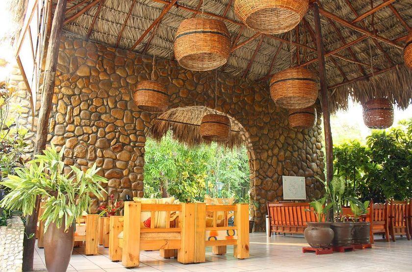 Hotel Nututun, Palenque, Mexique, terrasse
