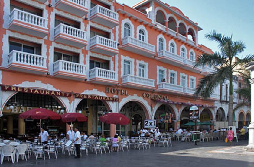 Veracruz zocalo.vue de l h tel slideshow
