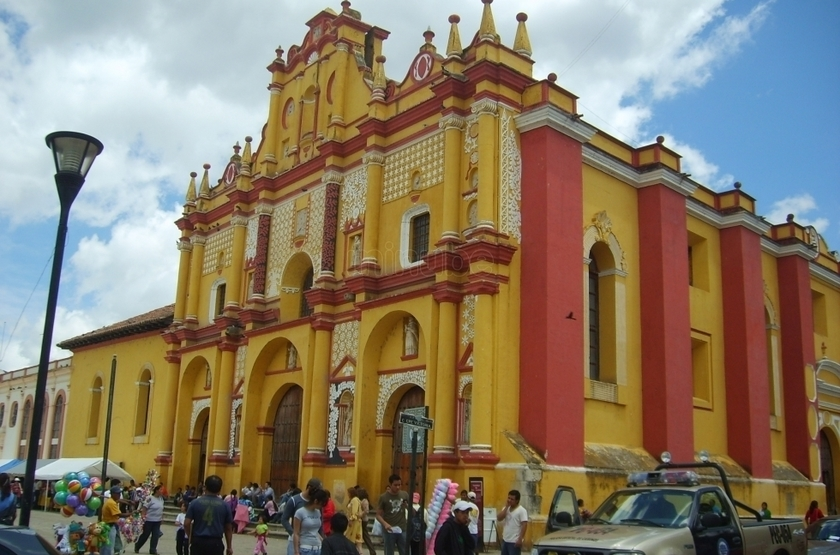 Hotel Catedral, San Cristobal, Mexique, cathédrale