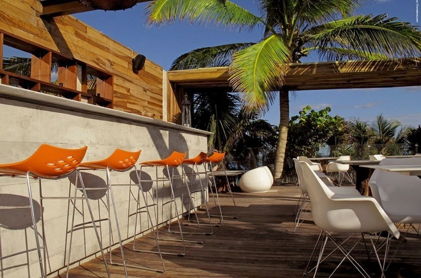 Be tulum vue bar ext rieur de nuit slideshow