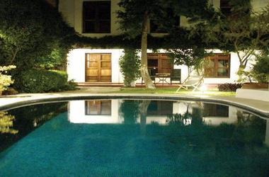 Casa oaxaca   vue de la piscine listing