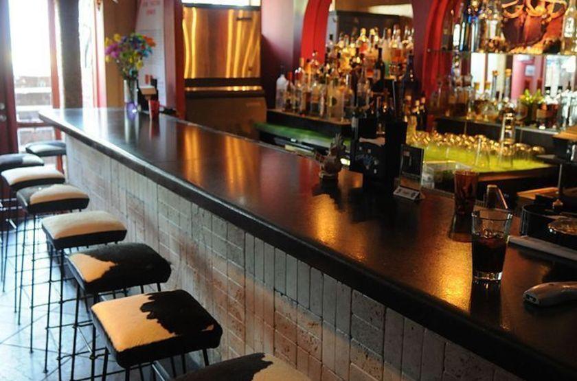 Casa oaxaca   vue du bar slideshow