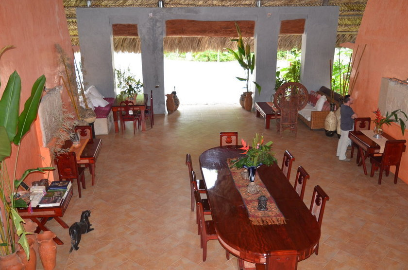Boutique Hotel Quinta Chanabnal, Palenque, Mexique, lobby