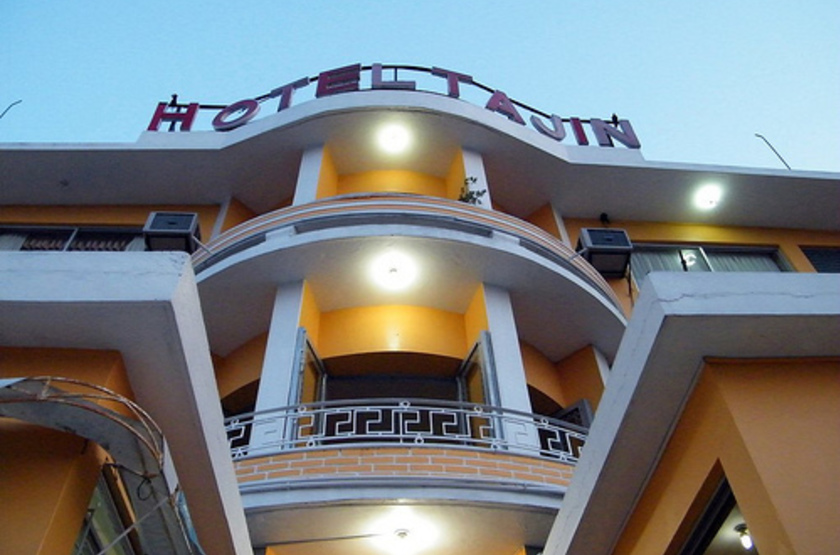 El Tajin Hotel, Paplenta, Mexique, extérieur