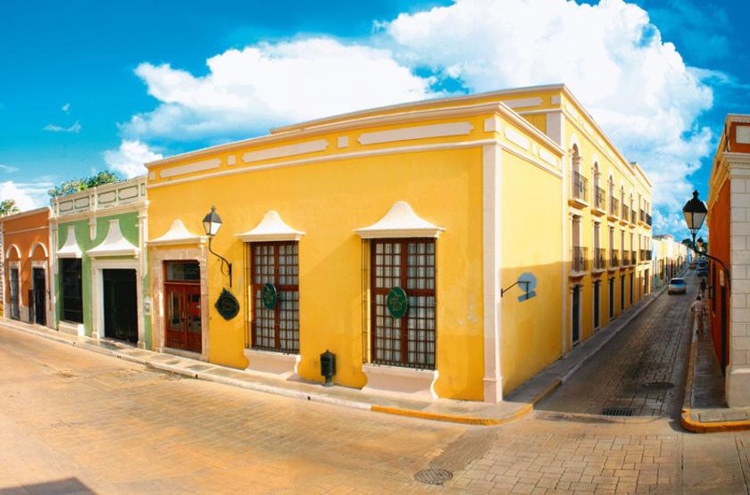 Francis Drake Hotel, Campeche, Mexique, extérieur