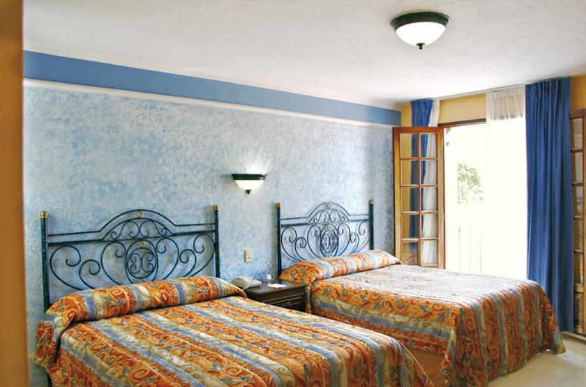 Francis Drake Hotel, Campeche, Mexique, chambre