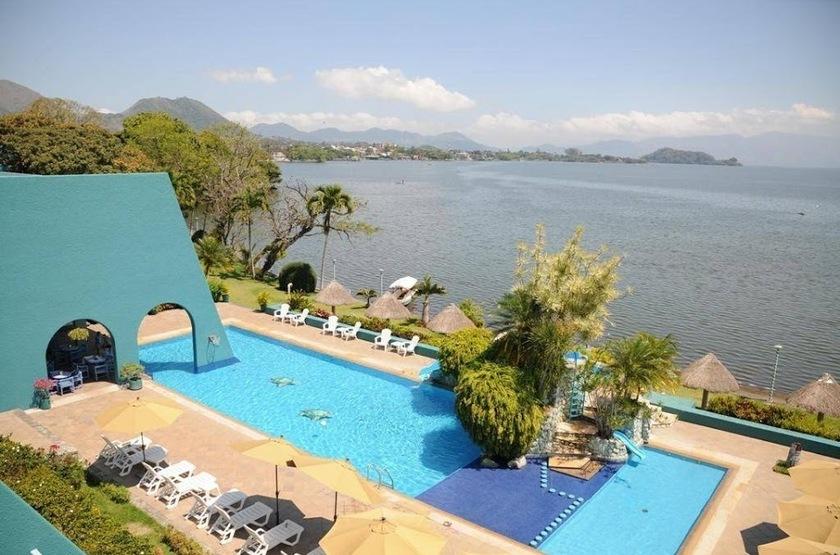 La Finca, Catemaco, Mexique, piscine