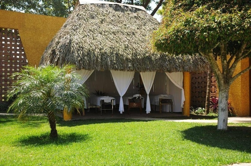 La Finca, Catemaco, Mexique, jardins