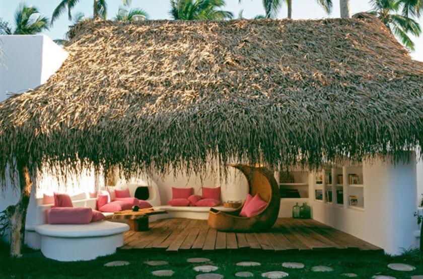 Hotel Azucar, Veracruz, Mexique, bungalow