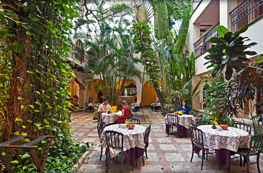 Casa Del Balam, Mérida, Mexique, restaurant