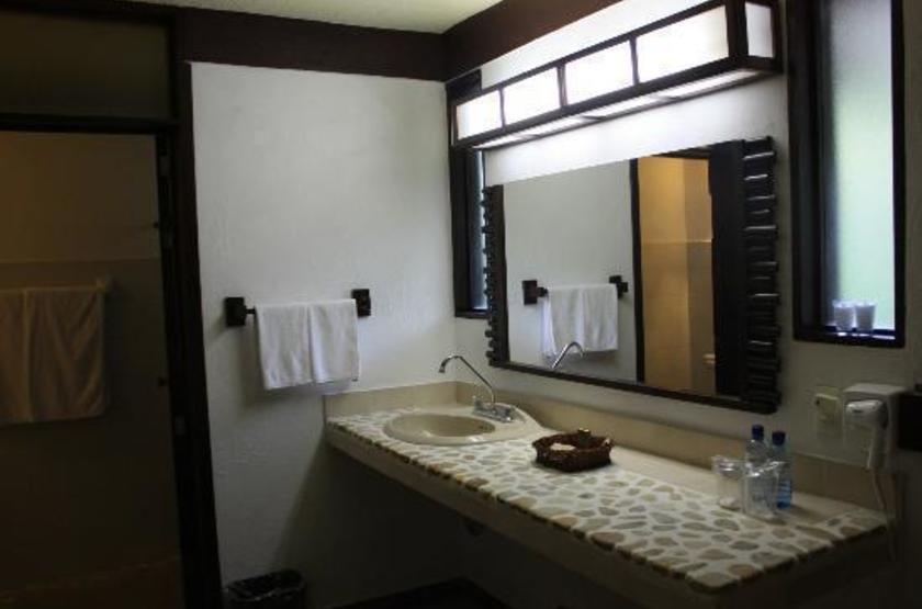 Chan Kah Resort Village & Spa, Palenque, Mexique, salle de bains