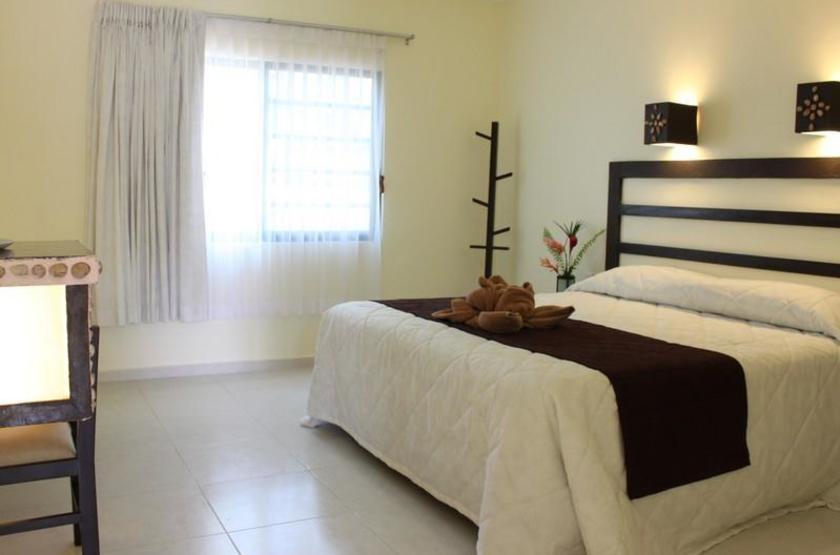 Hotel Nututun, Palenque, Mexique, chambre
