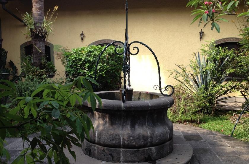Posada Coatepec, Xalapa, Mexique, jardin