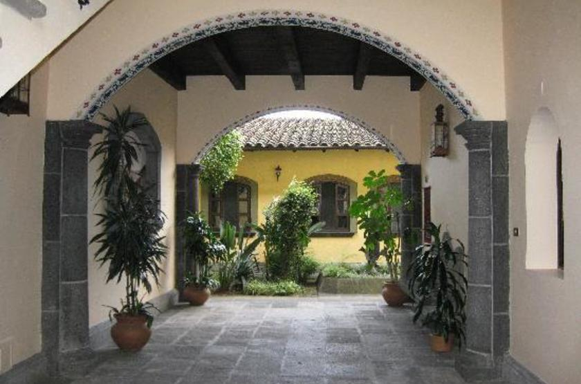 Posada Coatepec, Xalapa, Mexique, entrée