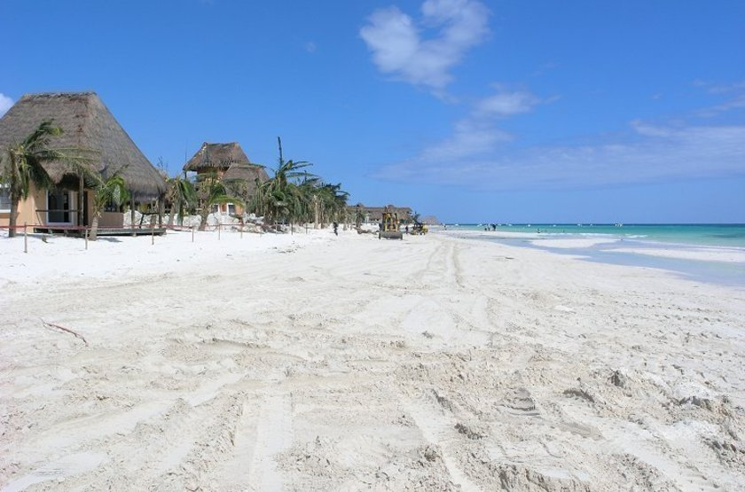 Shangri La Caribe Resort, Playa del Carmen, Mexique, plage