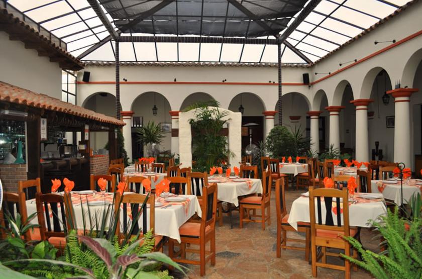 Plaza Magnolias, San Cristobal de Las Casas, Mexique, restaurant