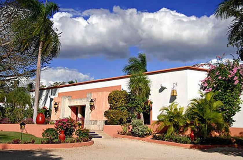 Villas Arqueologicas de Uxmal, Mexique, extérieur