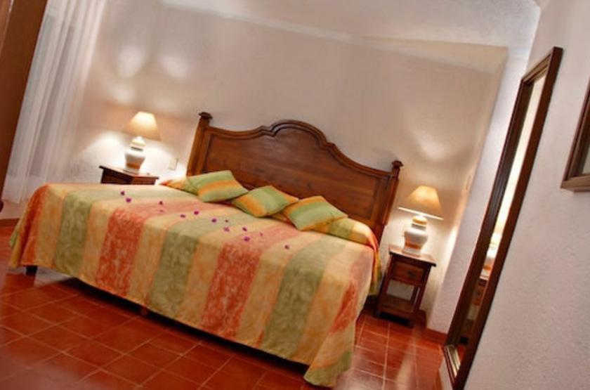 Villas Arqueologicas de Uxmal, Mexique, chambre
