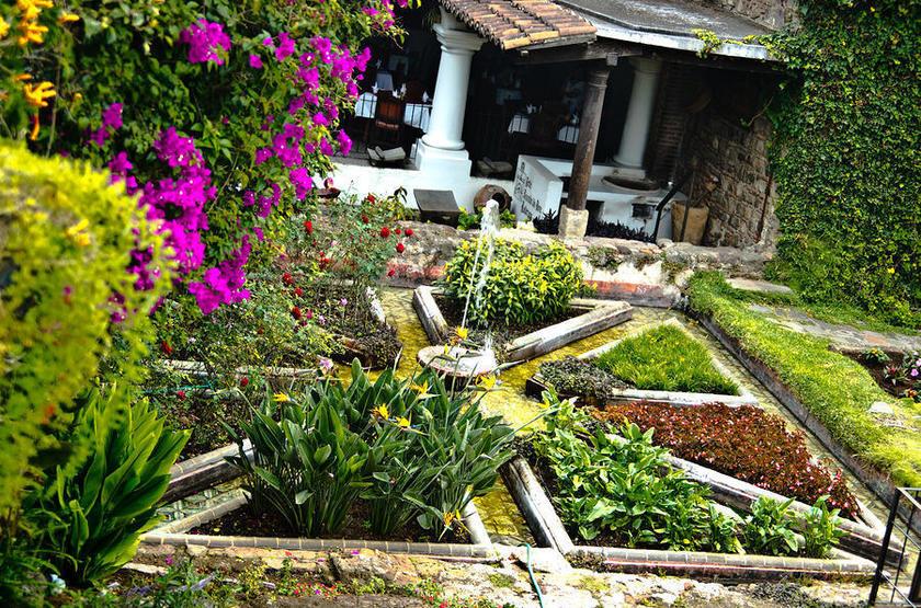 La Posada de Don Rodrigo, Antigua, Guatemala, jardins