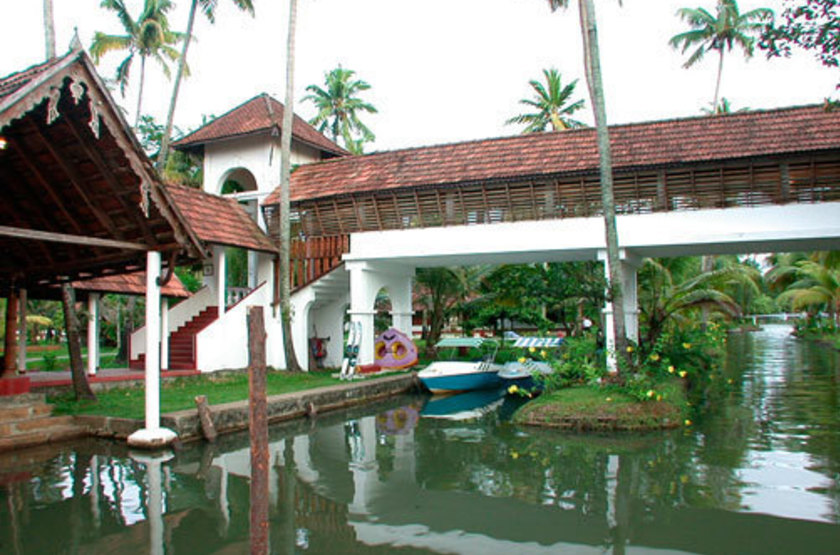 Coconut Lagoon, Kottayam, Inde, extérieur