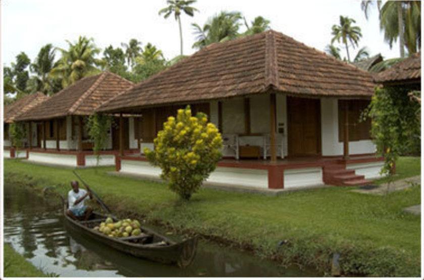 Coconut Lagoon, Kottayam, Inde, cottage
