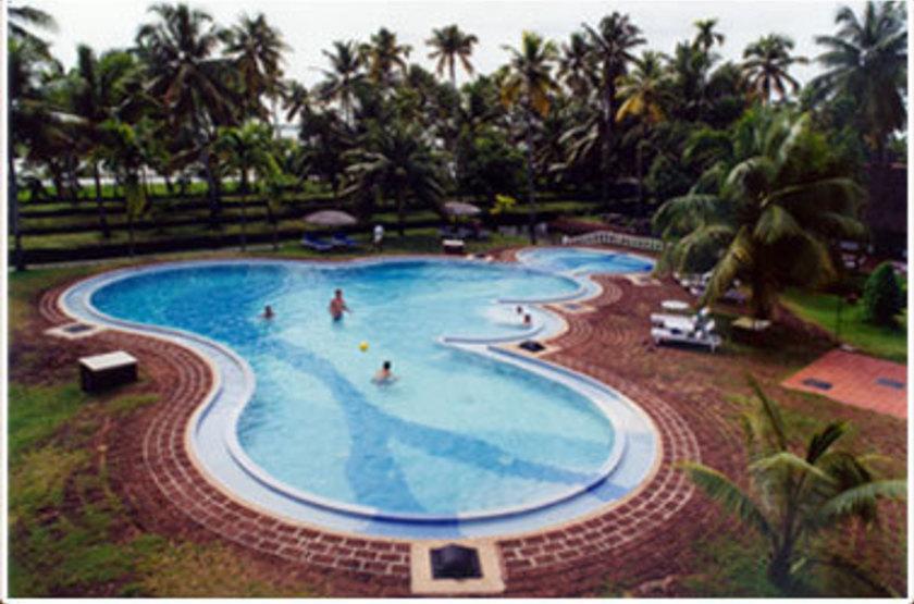 Coconut Lagoon, Kottayam, Inde, piscine