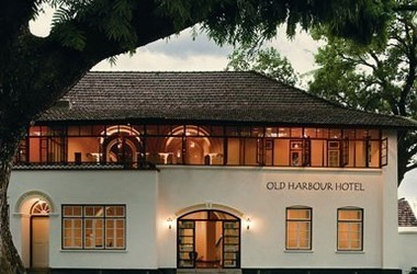 Old harbour   cochin   facade listing