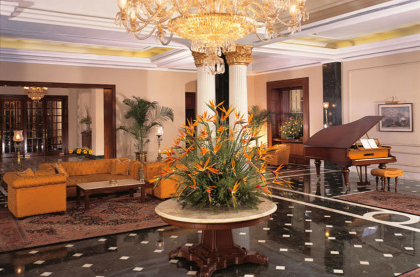 Oberoi grand   calcutta   lobby slideshow