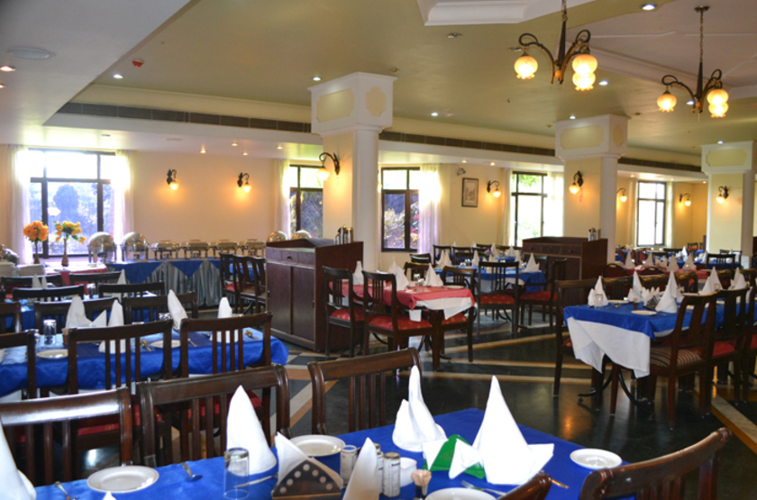 The Royal Regency, Bodhgaya, Inde, restaurant