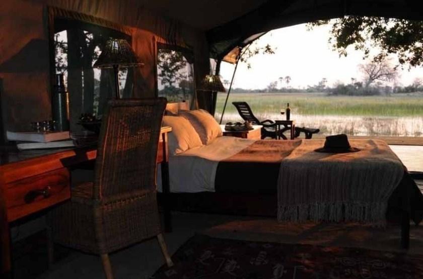 Macatoo Camp, Moremi, Botswana, intérieur