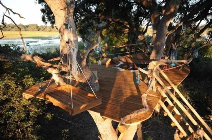 Macatoo Camp, Moremi, Botswana, point de vue